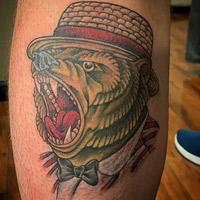 Bear Tattoo - Lauren Miller