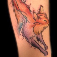Fox Tattoo - Lauren Miller
