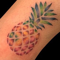 Pineapple Tattoo - Lauren Miller