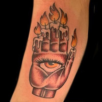 Triditional Tattoo - Lauren Miller